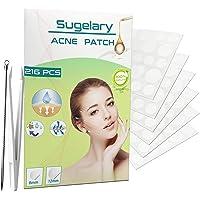 216PCS Acne-patches, Onzichtbare Hydrocolloïde Absorberende Puistjes, Waterdichte en Onzichtbare Vlekbehandeling…