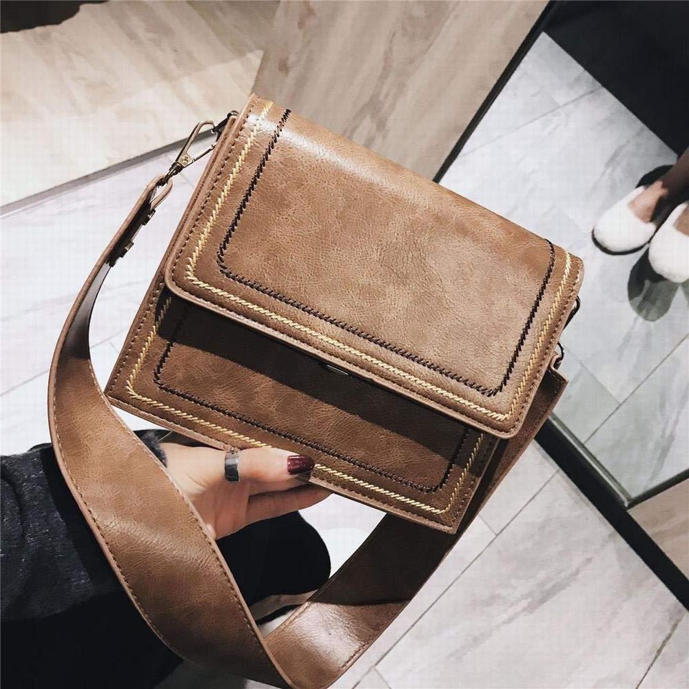 MAGAI Umhängetasche Messenger Bag Handtasche Casual Handtasche Geldbörsen für Frauen Frauen Frauen (Farbe   Khaki) B07PCQVGDP Schultertaschen Echt 12bce9