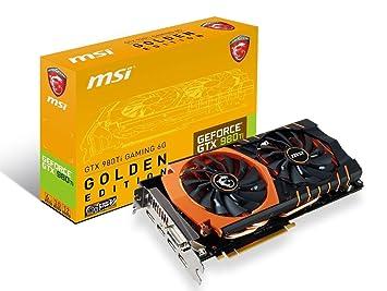 Amazon com: MSI Limited GAMING Edition GeForce GTX 980 TI