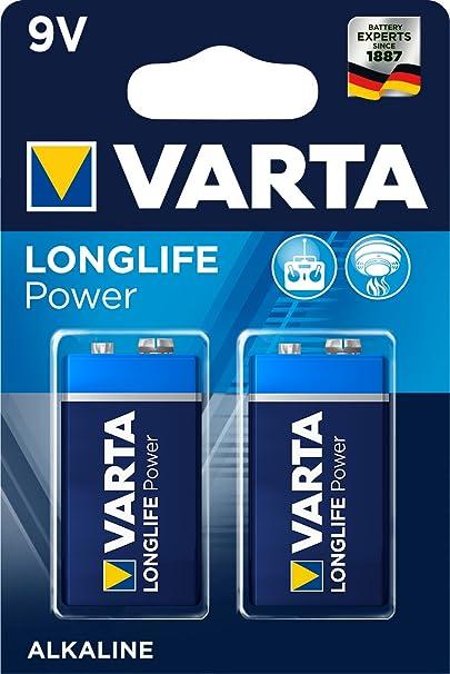 Varta Longlife Power 9v Block 6lp3146 Battery Alkaline Elektronik