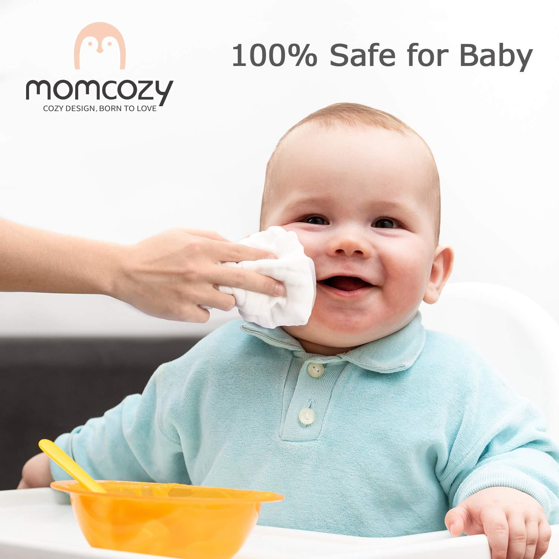 Unisex Weiche Mullt/ücher Baby Momcozy Baby Waschlappen Musselin Waschlappen Baumwolle 100/% 10 St/ück 30 x 30 cm Mullwaschlappen Baby Wiederverwendbare Baby Gesichtst/ücher f/ür Bad Wei/ß H/ände