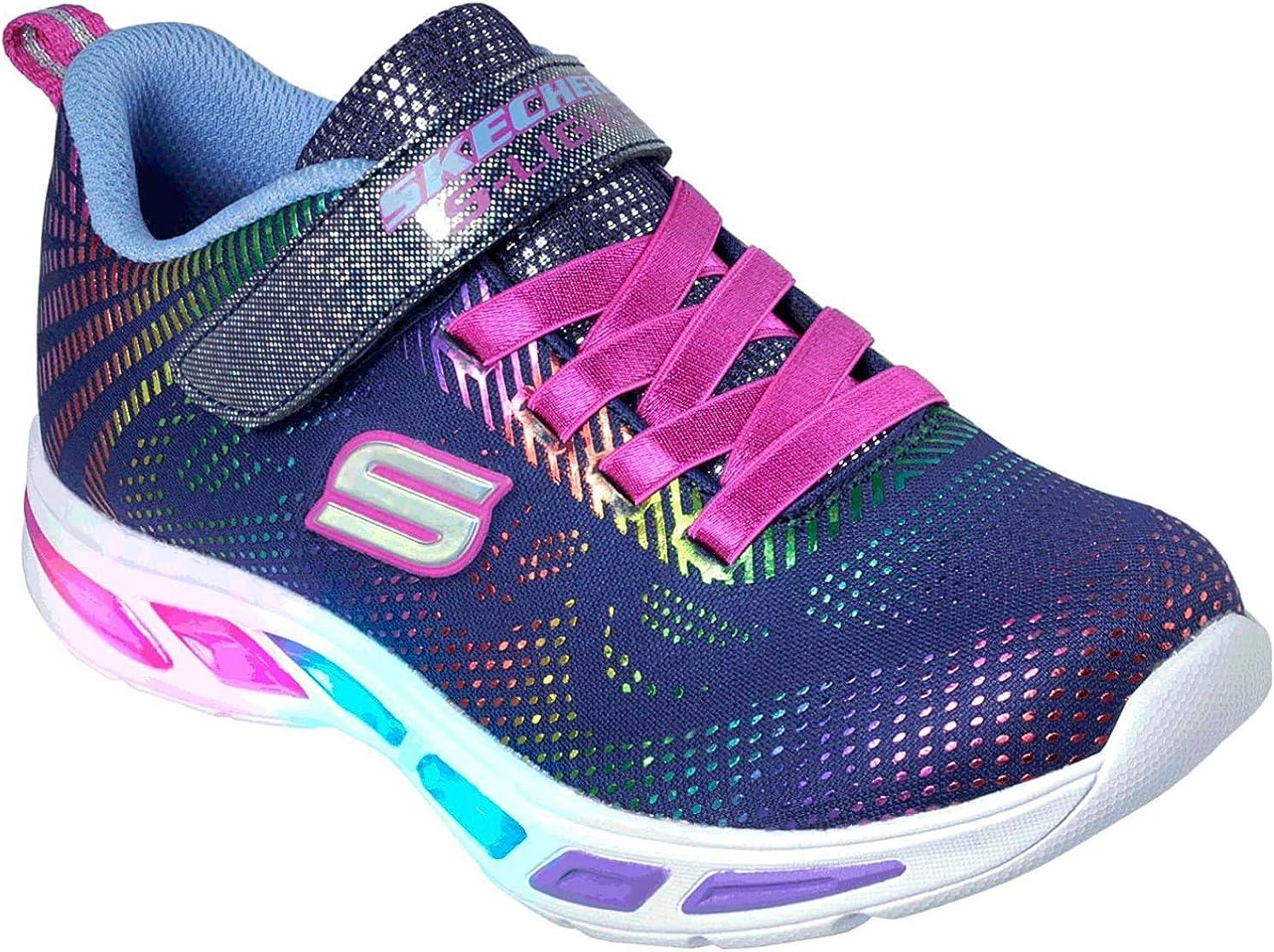 SKECHERS Girls' Litebeams Gleam N' Dream Sneakers Bob's