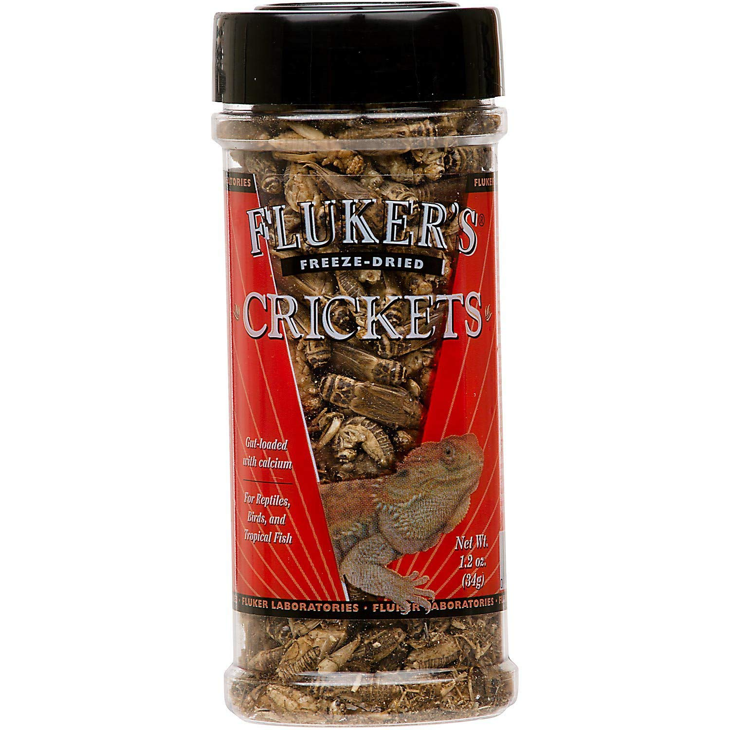 Fluker's 72025 Freeze Dried Crickets, 1.2oz