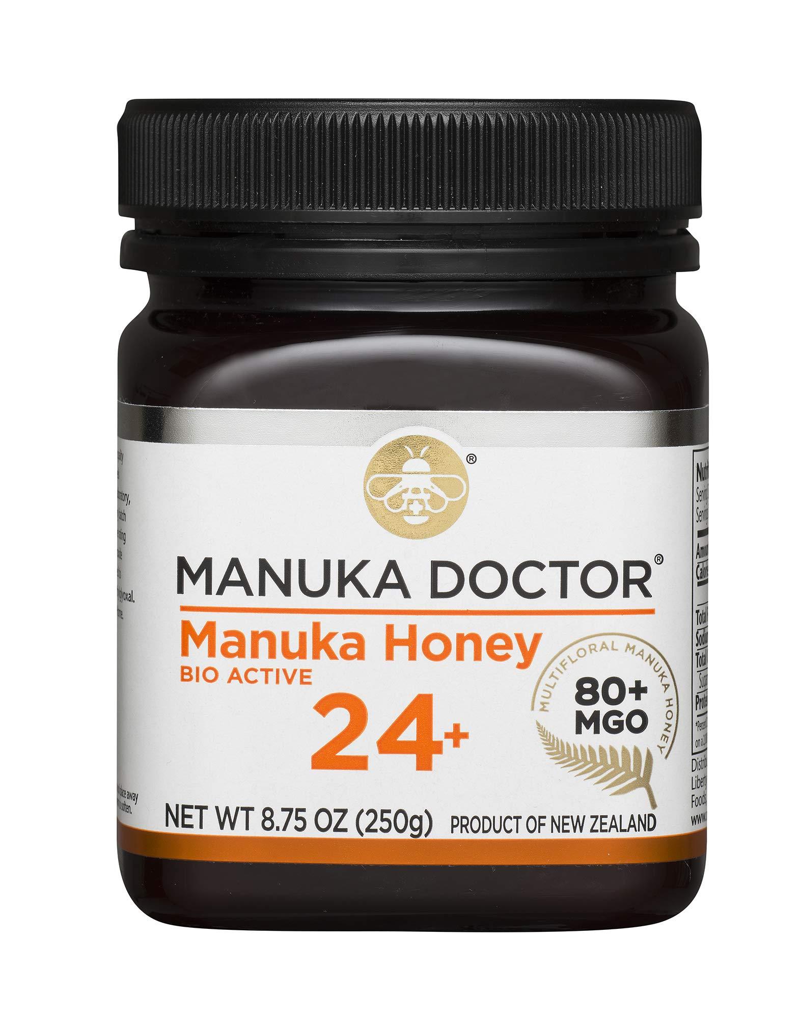 Manuka Doctor Bio Active Honey, 24 Plus, 8.75 Ounce by Manuka Doctor (Image #1)
