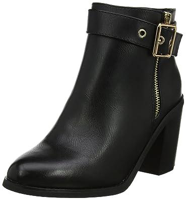 5de92789c35 Miss KG Women's Janelle Boots, (Black), 8 UK 41 EU: Amazon.co.uk ...