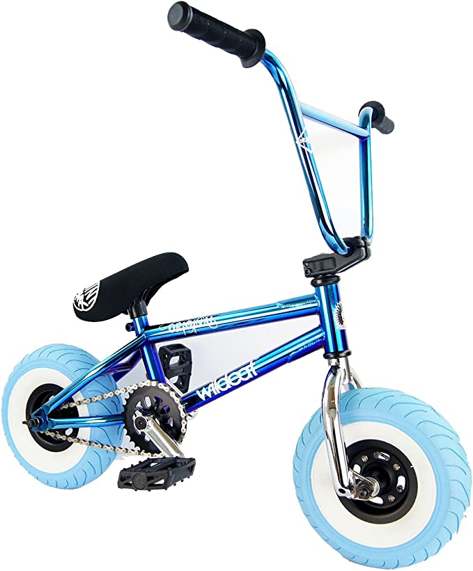 Wildcat Original bielas de 3pc Mini BMX Azul Aceite Slick ...
