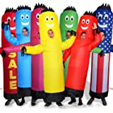 LookOurWay Air Dancers Inflatable Tube Man Costume, Red