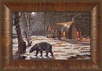 Amazon.com: Sweet Curiosity by Mary Pettis 11x15 Bear Cub Syrup ...