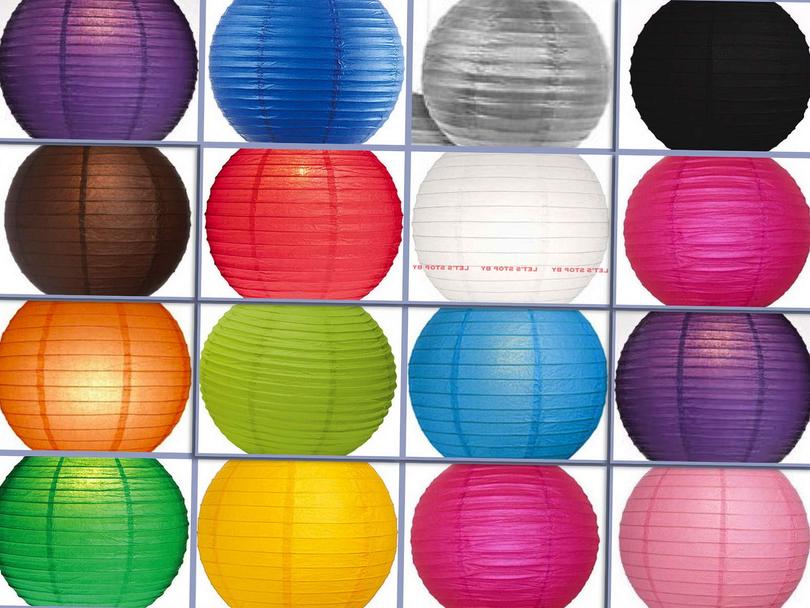Mikash 12X Round Chinese Paper Lanterns lamp 12 Wedding Party Floral Event Decoration | Model WDDNGDCRTN - 25500 | with Light/Multi Color