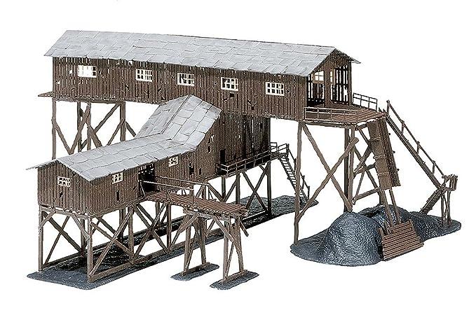 Modelismo Ferroviario De Faller Edificio 1 87 Industrial Escala H0 jq3AR4L5