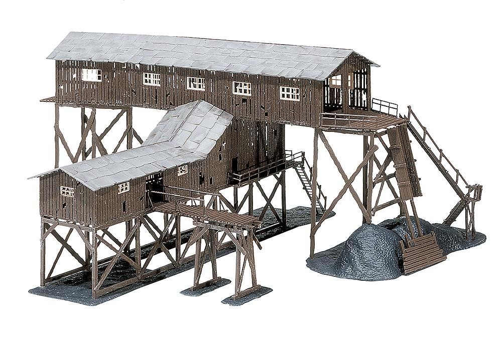 Faller 130470 Old Coal Mine HO Scale Building Kit