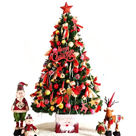 Amazoncom Dulplay Decoration Artificial Christmas Tree With Led