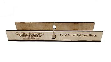 fretting Mitra caja Kit para guitarra cuello y diapasones hasta 2,5 cm de ancho
