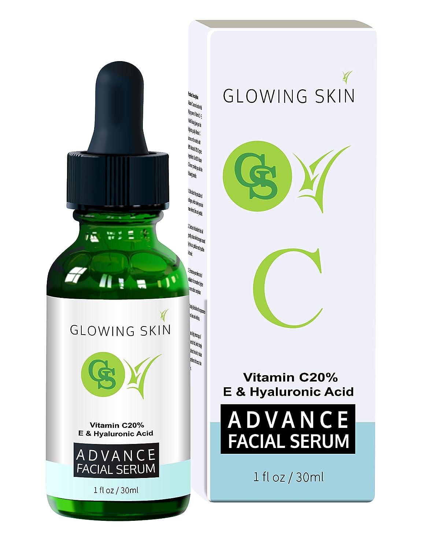 Vitamin C Serum For Face Facial Serum With Hyaluronic Acid Vitamin E Serum Vitamin C Skincare 1 Fl Oz