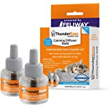 ThunderEase Cat Calming Pheromone Diffuser Refill | Powered by FELIWAY | Reduce Scratching, Urine Spraying, Marking, and…