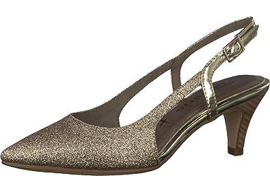 Damen Glitzer Pumps 29601 28 Sandalen Tamaris Schuhe 1 Sling qGzVLUMpS