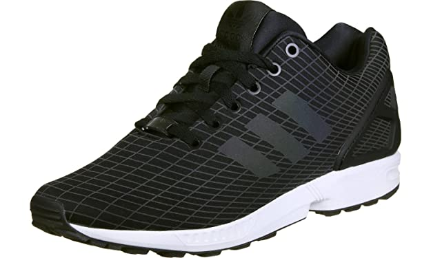 a9d68beb72ee adidas Originals Baskets Enfant Zx Flux Core Black FTWR White Core Black   Amazon.co.uk  Shoes   Bags