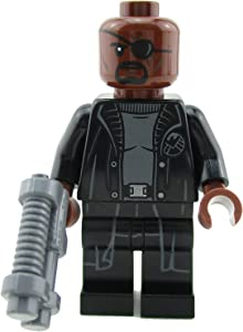 LEGO All Parts to Build Spider-Man Far from Home Nick Fury Minifigure from Set 76130