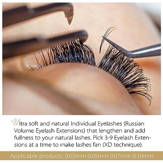 a8c7d296ee1 Amazon.com: BEYELIAN 0.05mm 3D-9D Russian Volume Lashing Individual Mink  Eyelash Extensions Semi Permanent Lash Application Mixed Tray 7-15mm(0.05mm  D Mix): ...