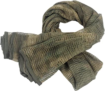 Tactical Scarf Mask Shemagh Sniper Veil Camo Military Army Wrap For Men Women