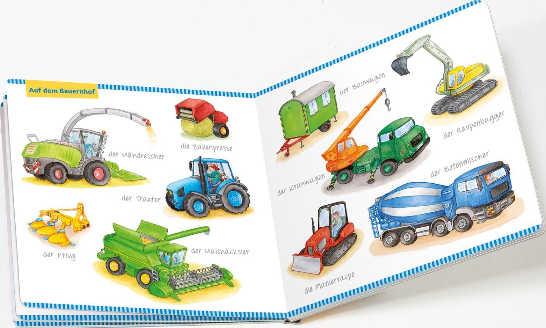Mein Bildwörterbuch Fahrzeuge: Spielerisches Lernen der ersten ...