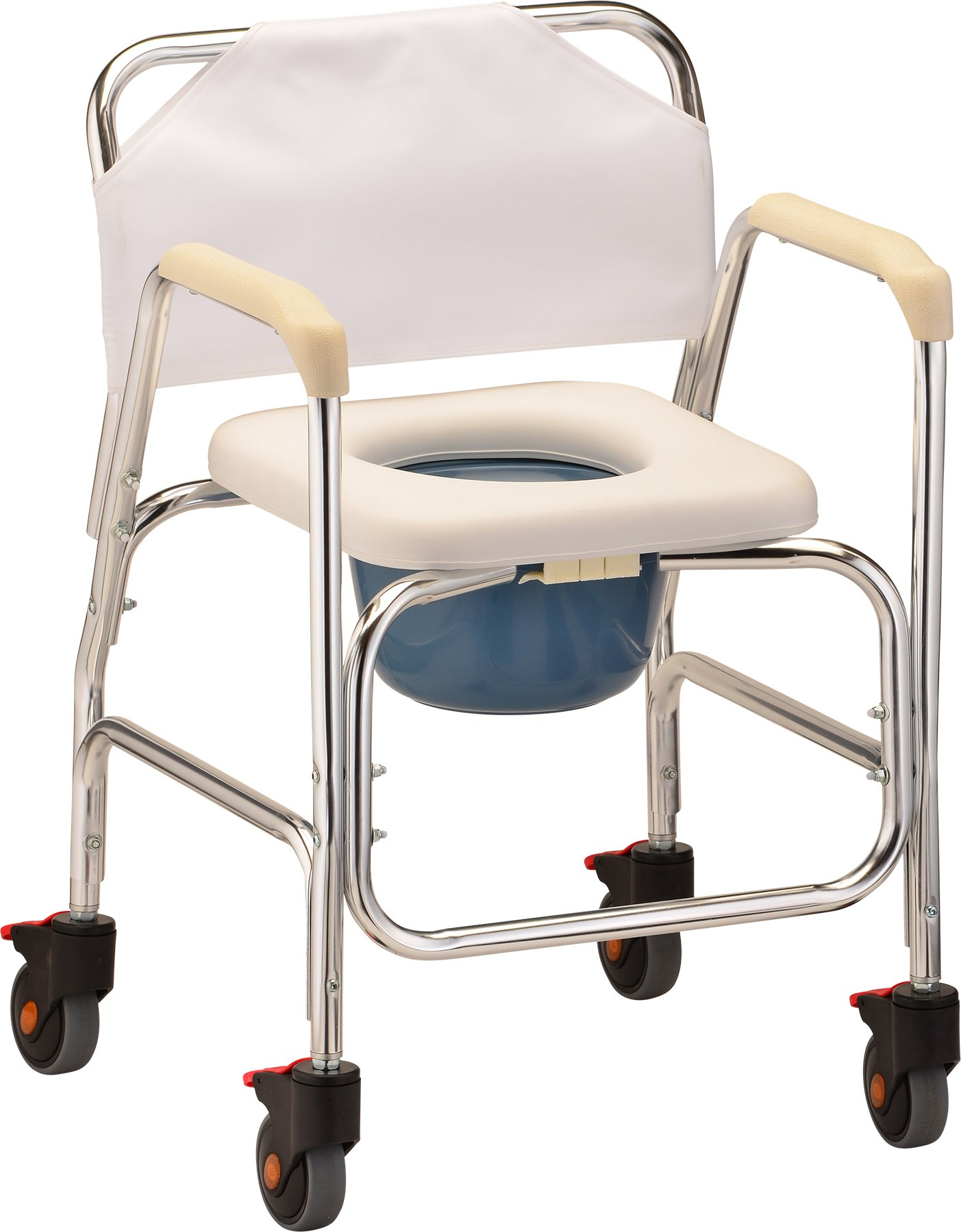 NOVA Medical Products Shower Commode w/Wheels