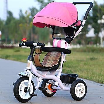 Triciclos Triciclo de niños Bicicleta 1-3-5 años Carro de bebé Carruaje de