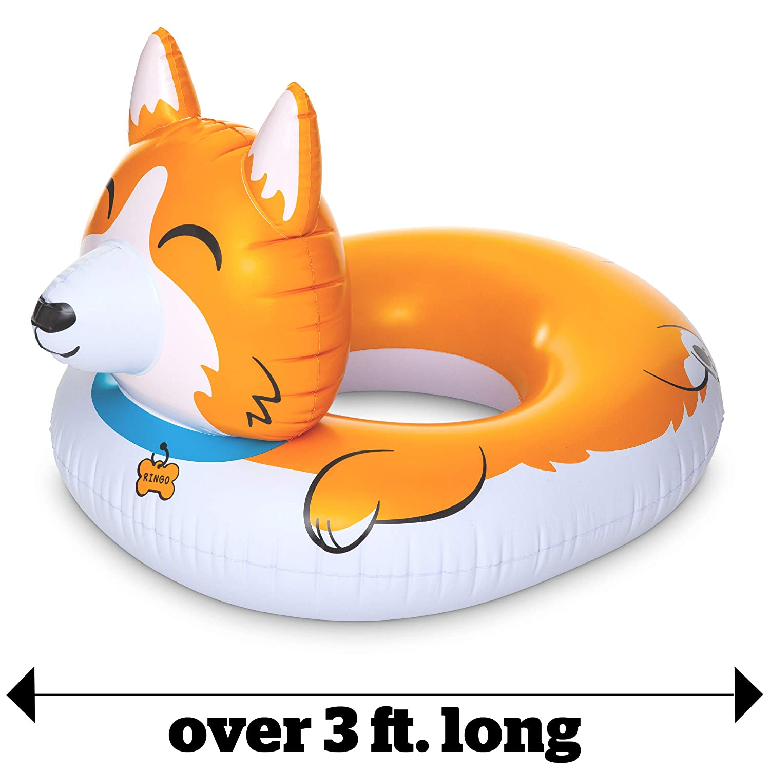 Corgi Pool Float. Come discover 22 Random Lovely Finds & Smiles to Discover...Decidedly Fun Stuff You Never Knew You Wanted.