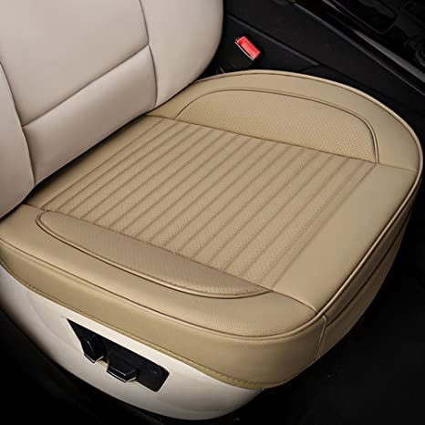 Outstanding Um Car Interior Seat Covers Edge Wrapping Front Seat Cushion Protection Pad Leather Linens Ventilated Breathable Comfortable Anti Skid Four Theyellowbook Wood Chair Design Ideas Theyellowbookinfo