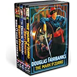 Douglas Fairbanks Silent Classics Collection (The Mark of Zorro / Robin Hood / The Thief of Bagdad / Don Q, Son of Zorro / The Black Pirate) (5-DVD)