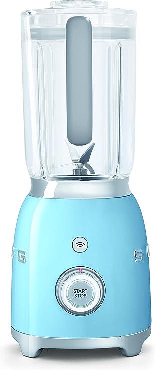 SMEG Batidora BLF01PBEU, 800 W, 0.45 litros, Aluminio, 4 ...