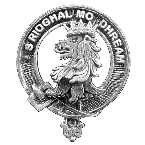 Amazon Macgregor Clan Crest Scottish Cap Badge Handmade