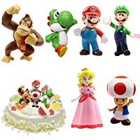 WELLXUNK® Super Mario speelgoed, Super Mario Brothers, Super Mario speelgoedfiguren, set Super Mario speelgoed…
