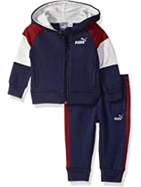 PUMA Boys Baby Boys Boys' Fleece Zip Up Hoodie Set