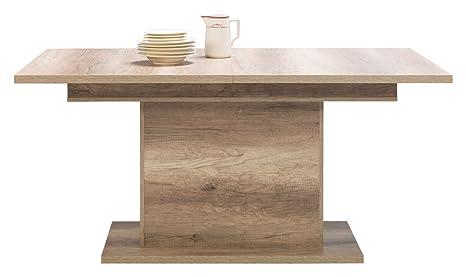 Barbara colonna tavolo da sala da pranzo estensibile ideale per