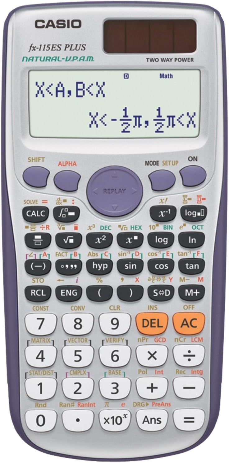 Casio fx-115ES PLUS Engineering/Scientific Calculator
