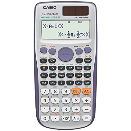 amazon com casio fx 115es plus engineering scientific calculator rh amazon com Casio FX 300Ms VAMPS Casio FX- 300 ES