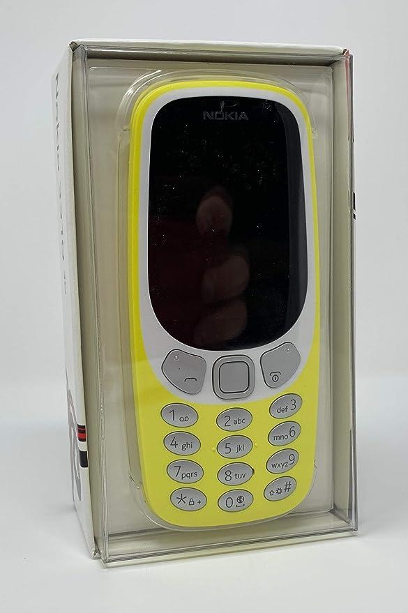 Amazon.com: Nokia 3310 3G TA-1036 - Teléfono con función de ...