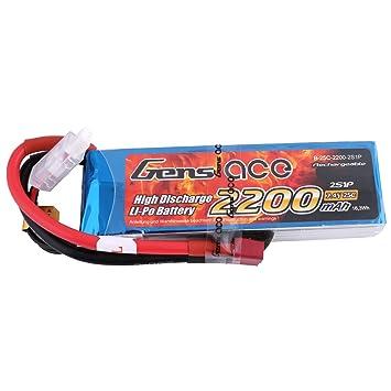 Gens Ace 2200mah 7 4v 25c 2s Lipo Bateria Para Juguetes De Avion
