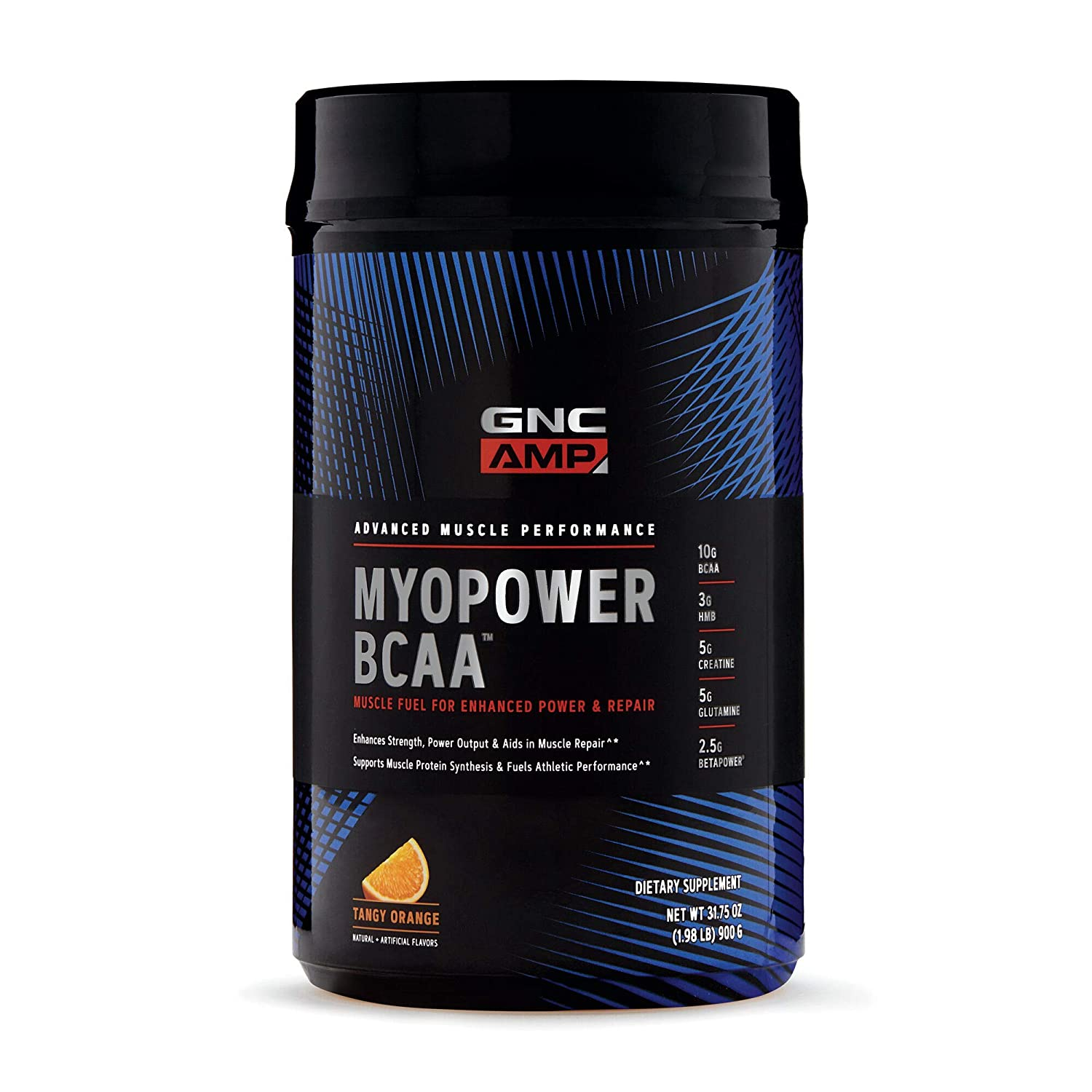 GNC AMP MYOPOWER BCAA – Tangy Orange