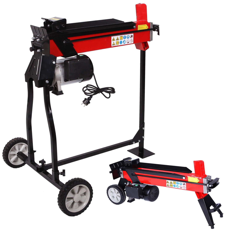 BRAST Holzspalter Brennholzspalter Kaminholz-Spalter Hydraulikspalter 7 Tonnen Schnellspalt-Funktion
