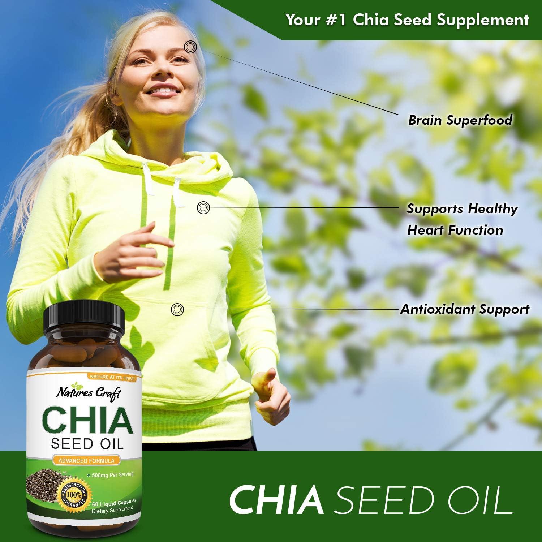 Amazon.com: Cápsulas de extracto de semillas de chía pura ...