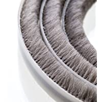 STEIGNER 5m Bürstendichtung Grau - selbstklebend - Höhe 20mm