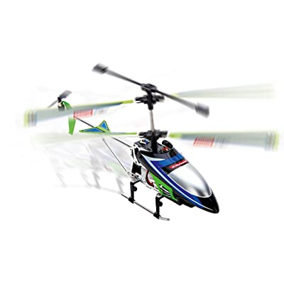 Carrera Vecto 2.4GHz 3-channel Helicopter, Green: Toys & Games [5Bkhe0904576]