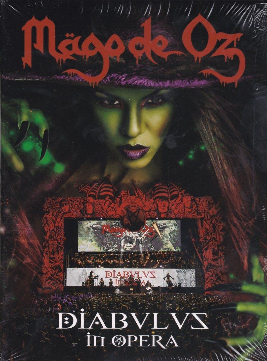 CD : Mago De Oz - Diabulus In Opera (With DVD, Spain - Import, Pal Region 0, 3 Disc)