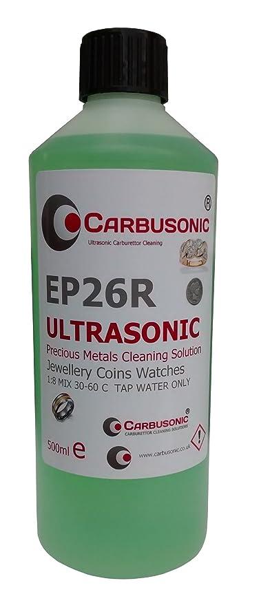 Ultrasónico solución de limpieza – joyas y relojes monedas solución no tóxico 500 ml