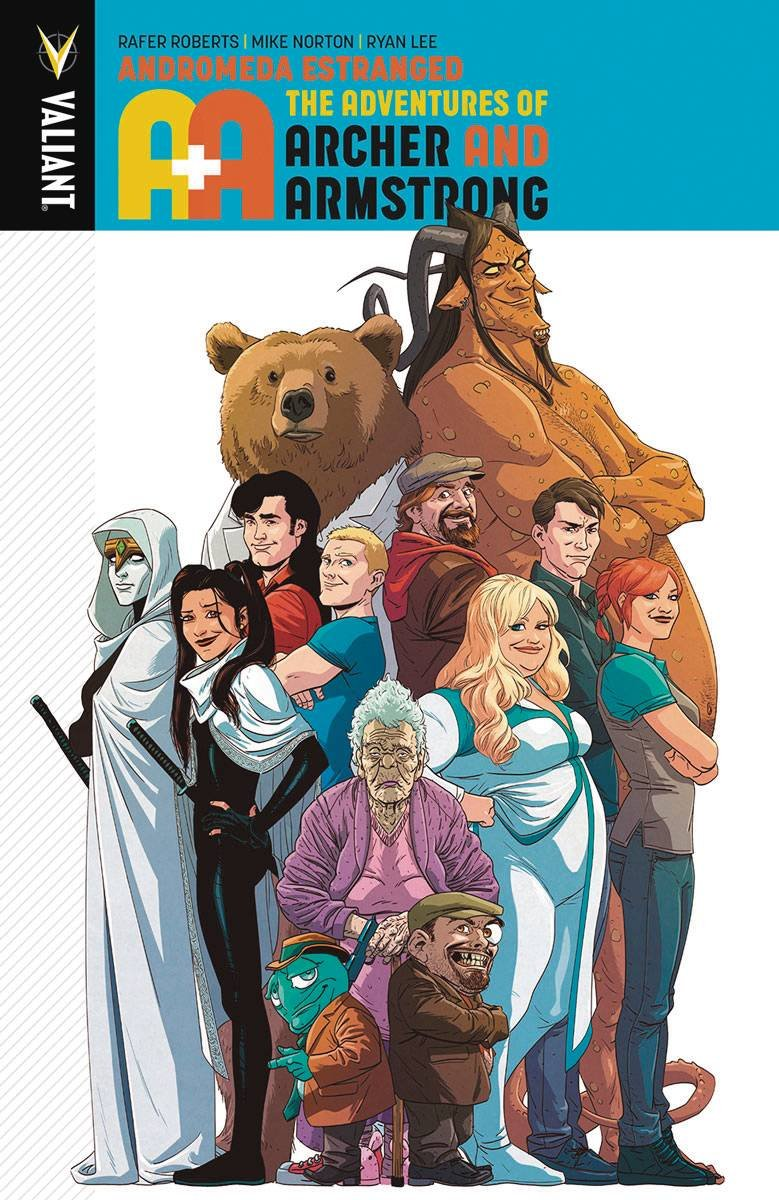 A&A: The Adventures of Archer & Armstrong Volume 3: Andromeda Estranged pdf