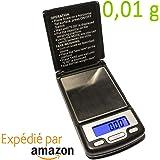 Micro Balance Précision 0,01 g de poche - Très précise