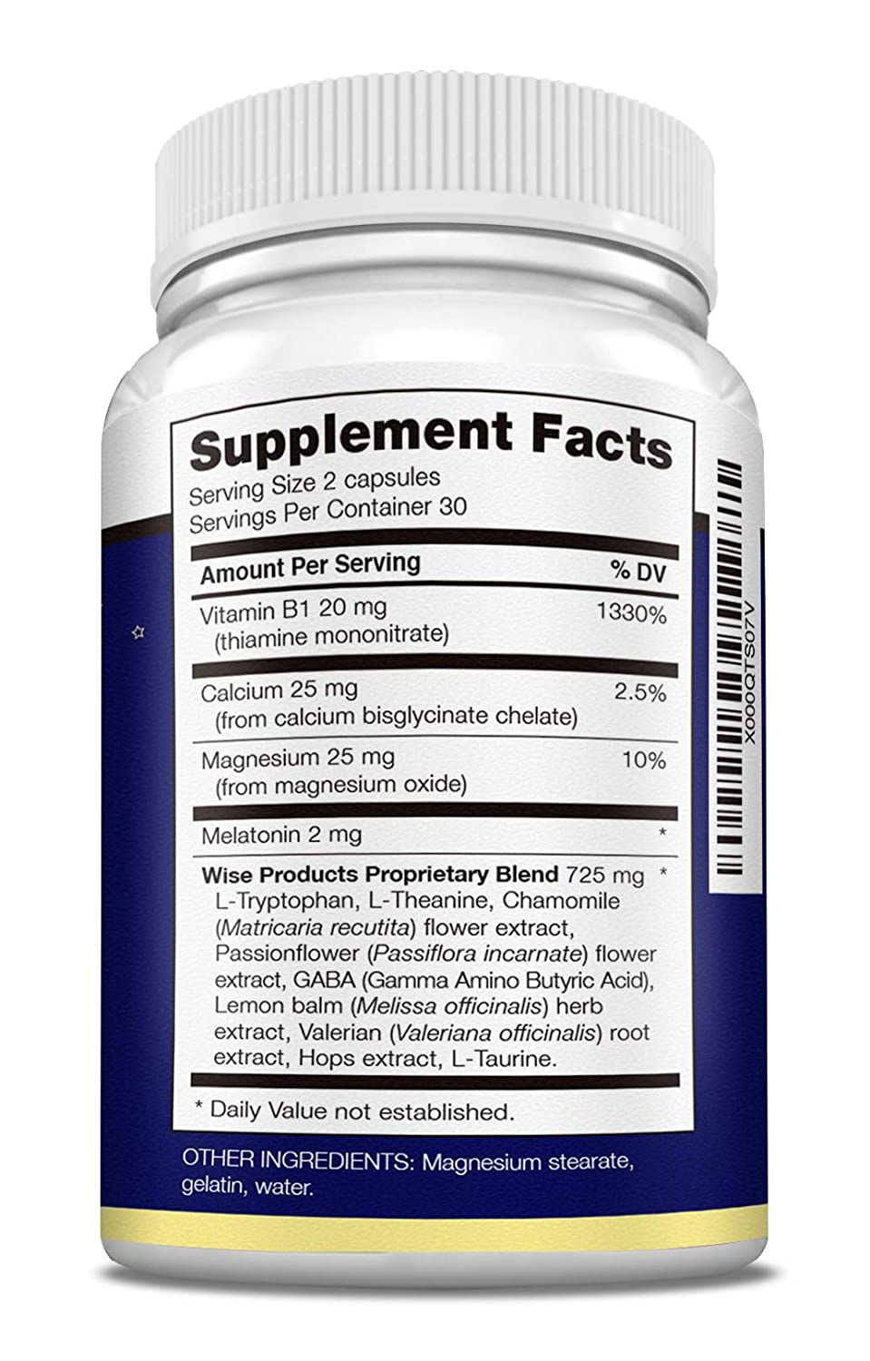 Amazon.com: Natural Sleep Aid Pills to Fall Asleep Fast with Melatonin, Minerals and Herbal Blend - Non-Habit Forming - End Insomnia Now!