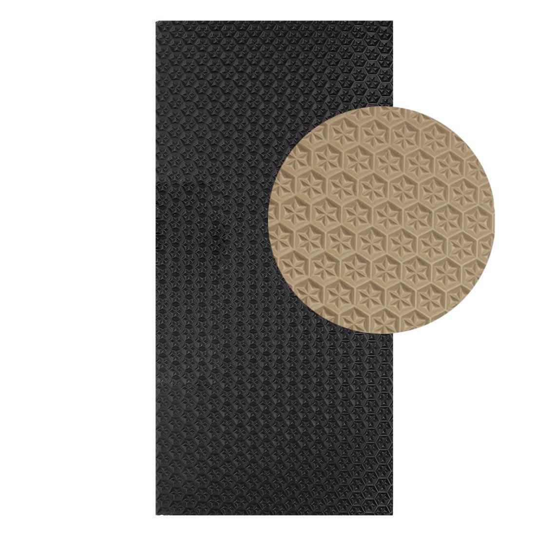 Langlauf Sohlengummiplatte 250mm x 500mm 6mm stark Profil Star in verschiedenen Farben zur Anfertigung von Schuhsohlen oder als Anti Rutsch Belag - 4 mm Stä rke Schuhbedarf